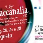 A San Gregorio Magno (Salerno) dal 25 al 28 agosto 2011 la XIX edizione di BACCANALIA