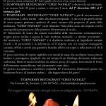 """Sorrento, attiva il Temporary Restaurant """"Chef Natale"""""""