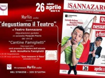 Degustiamo il Teatro, il 26 aprile evento targato MarVin wineClub e Cantine Famiglietti