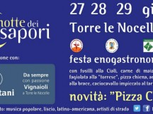 La Notte dei Sapori, Torre Le Nocelle (AV) 27 28 29 giugno