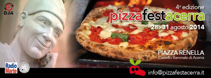 Dal 28 al 31 agosto il Pizza Fest Acerra 2014
