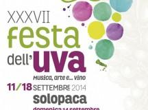 A Solopaca dall'11 al 18 settembre ritorna la Festa dell'Uva