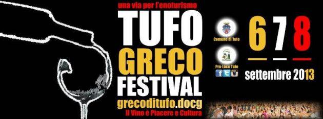 Il vino è cultura e piacere, dal 5 al 7 settembre Tufo Greco Festival