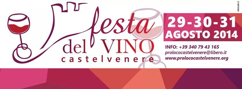 A Castelvenere (Benevento) dal 29 al 31 agosto la Festa del Vino