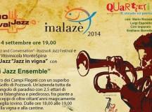 Malazè 2014 e Jazz in Vigna: Domenica 14 settembre Mario Romano Quartieri Jazz Ensemble all'Azienda Montespina