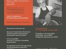 A Caserta il 28 gennaio al bistrorante Morsi e Rimorsi l'autentica cucina contadina con Berardino Lombardo