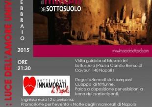 ammOr Sott' O sUol evento al Sottosuolo di Napoli per S.Valentino