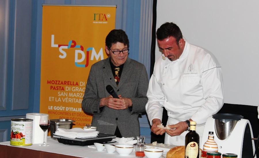Le Strade della Mozzarella: glichef e i prodotti campani spopolano al Four Seasons Hotel des Bergues