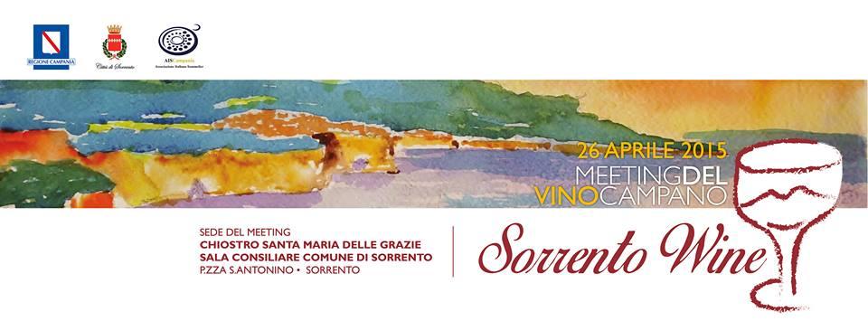 Il 26 aprile ritorna a Sorrento il Meeting del Vino Campano