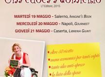 """Arriva in Campania il tour di presentazione del libro di Maria Elena Curzio """"Una cuoca a domicilio"""""""