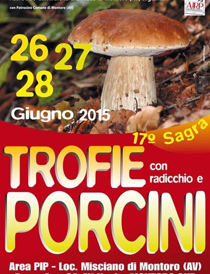 Diciassette candeline per la Sagra delle Trofie con Radicchio e Porcini  e degli Gnocchi alla Borgense a Montoro