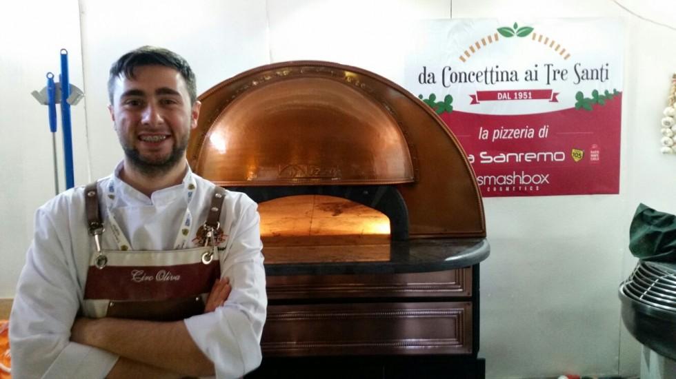 A Sanremo le star mangiano la pizza targata Na di Ciro Oliva