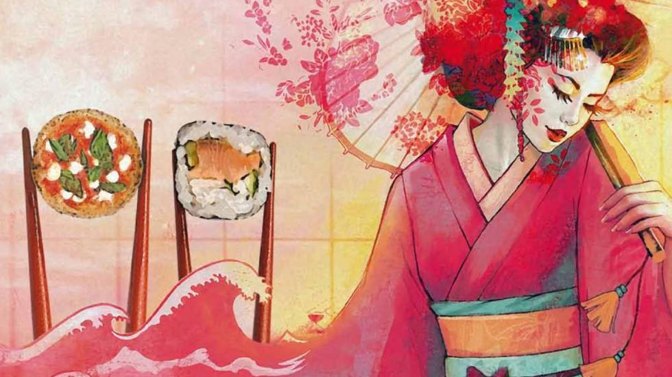RIVOLUZIONI PER UN GIORNO – L'8 febbraio La Dea bendata di Pozzuoli diventa Dea d'Oriente: i fritti e pizze di Ciro Coccia incontrano tempura e sushi di Giappo Pozzuoli