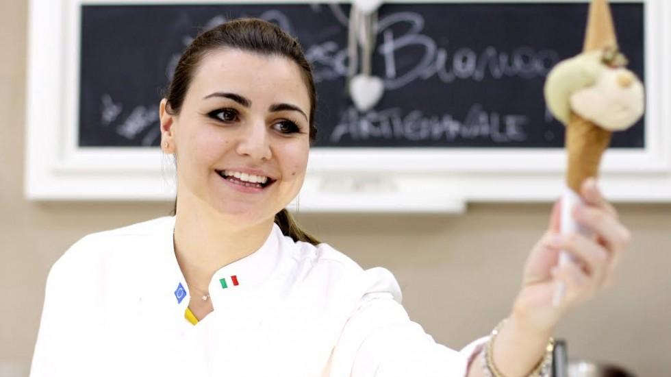 A Napoli da Orso Bianco il gelato vegano di Tonia Giordano