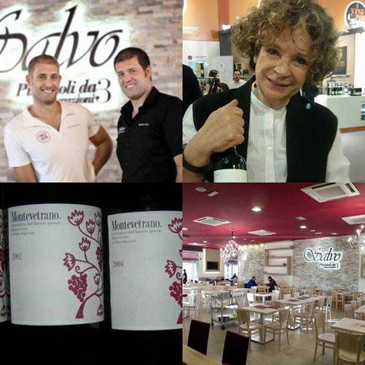 3 Ottobre Verticale Montevetrano con Silvia Imparato nella Pizzeria Salvo a San Giorgio a Cremano