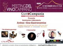 Meeting del Vino Laboratorio Archeo Eno Gastronomico