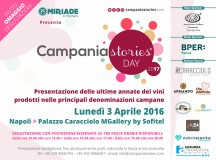 Campania Storie 2017 dal 29 Marzo al 2 Aprile