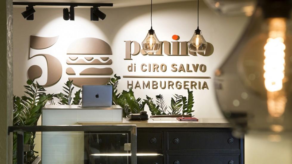 50 PANINO di Ciro Salvo: novità in carta e in cucina con la consulenza di   Gianluca D'Agostino chef Una stella Michelin