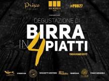 19 Giugno 4 Birre in 4 piatti Hermes Restaurant Pompei