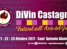 Divin Castagne festival dell'arte del gusto dal 20 al 23 Ottobre