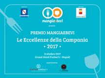 """Domenica 8 Ottobre al Grand Hotel Parker's  svelati i vincitori del """"Premio MangiaeBevi 2017″"""
