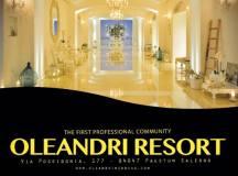 29 Ottobre presso l'Oleandri resort La First Professional Community