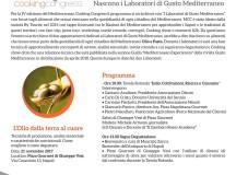 21 Novembre IV Edizione Mediterranean Cooking Congress Meeting sull'olio da Pizza Gourmet di Giuseppe Vesi