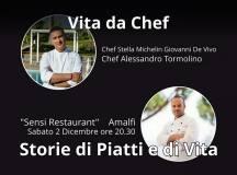 """Vita da Chef""  Sensi Restaurant Amalfi  Sabato 2  Dicembre"