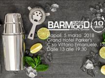 Napoli 5 Marzo  Barmood 2018 al Grand Hotel Parker's
