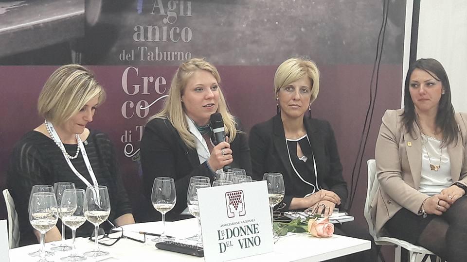 15 Aprile Vinitaly 2018 le Donne del Vino della Campania raccontano le diverse sfumature di Aglianico